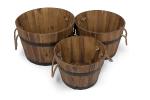 macetas madera