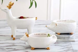 maceta blanca ceramica