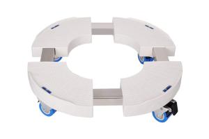 soporte macetas con ruedas